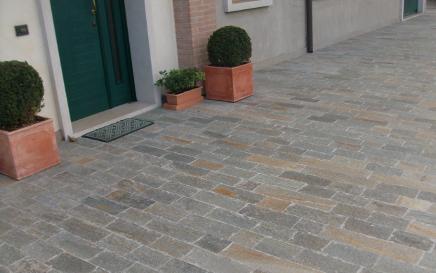Nord esterni pavimentazione per esterni treviso e venezia galleria - Pietra di luserna per esterni ...